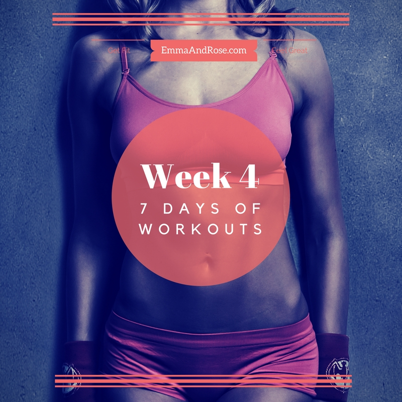 7-Day Workout Plan - Week 4