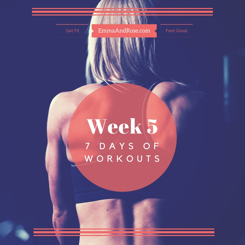 7-Day Workout Plan - Week 5