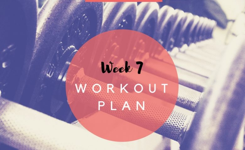 7-Day Workout Plan - Week 7