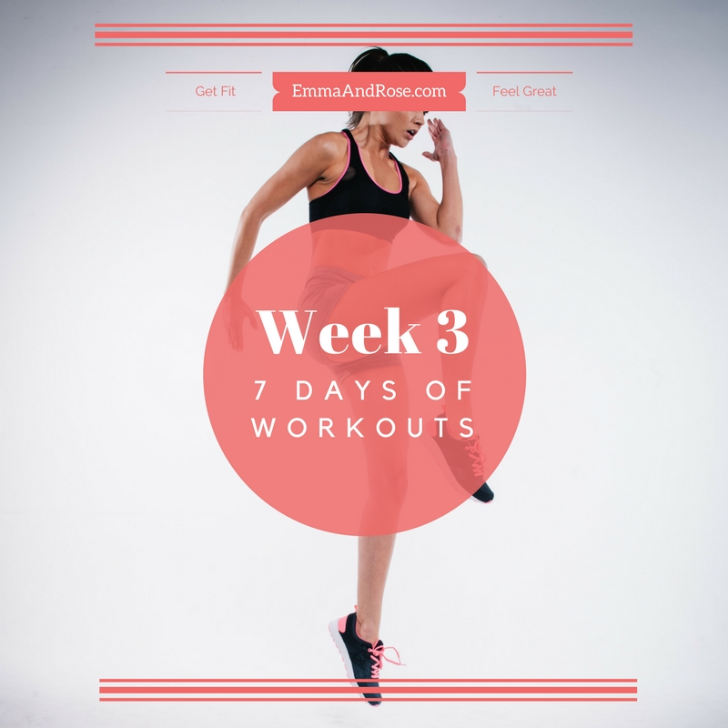 7 Days of Workouts - Week 3 - SM