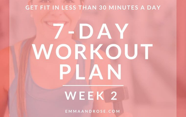 7-Day Workout Plan - Week 2