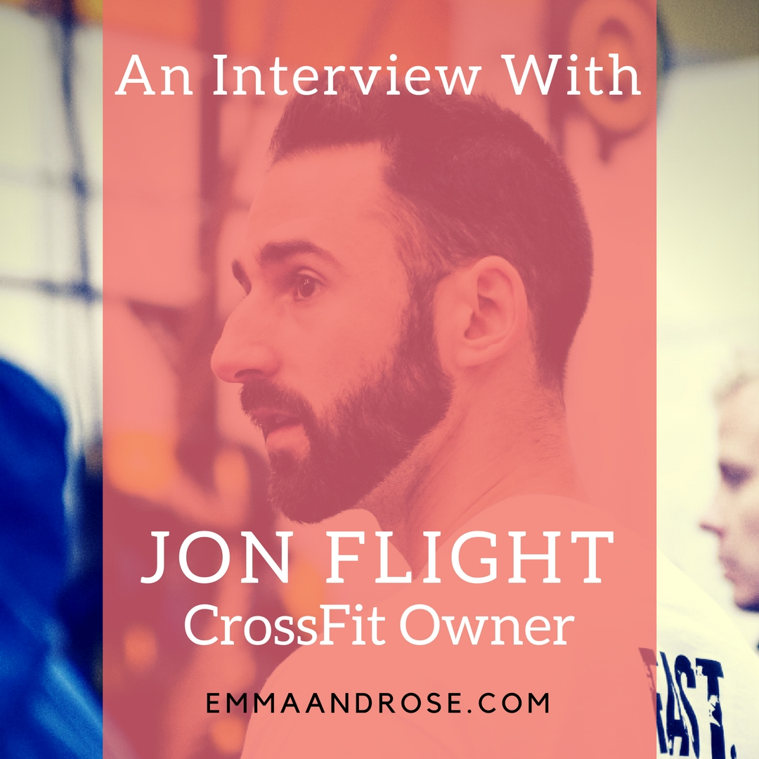 Jon Flight CrossFit Owner