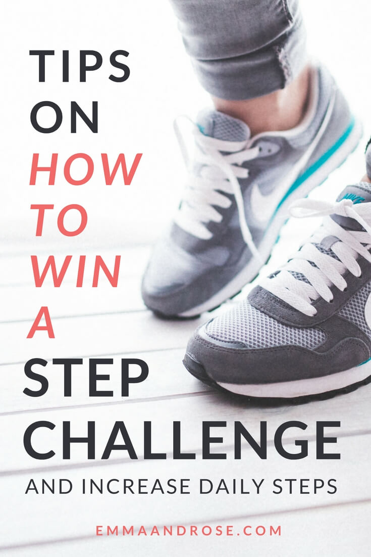Top Tips on How to Win a Step Challenge And Increase Your Daily Steps