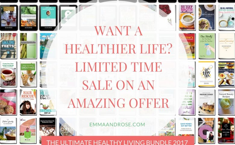 Want A Healthier Life? Limited Time Sale On An Amazing Offer