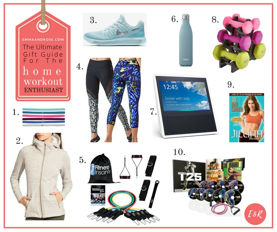 The Ultimate Gift Guide For Fitness Fanatics - The Home Workout Enthusiast