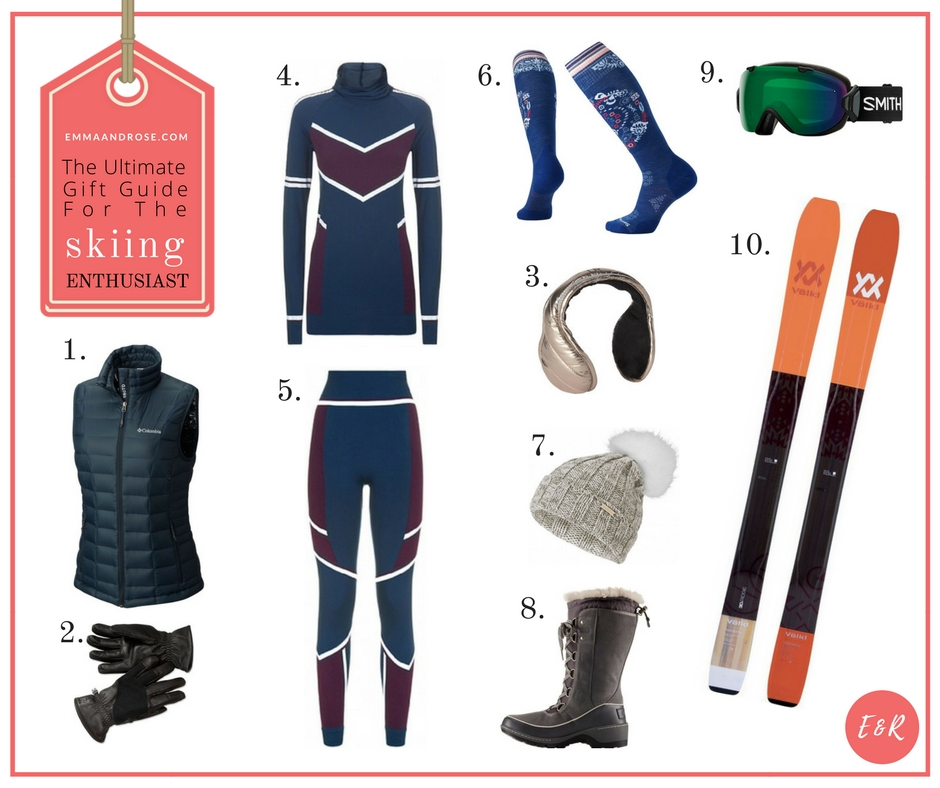 The Ultimate Gift Guide For Fitness Fanatics - The Skiing Enthusiast