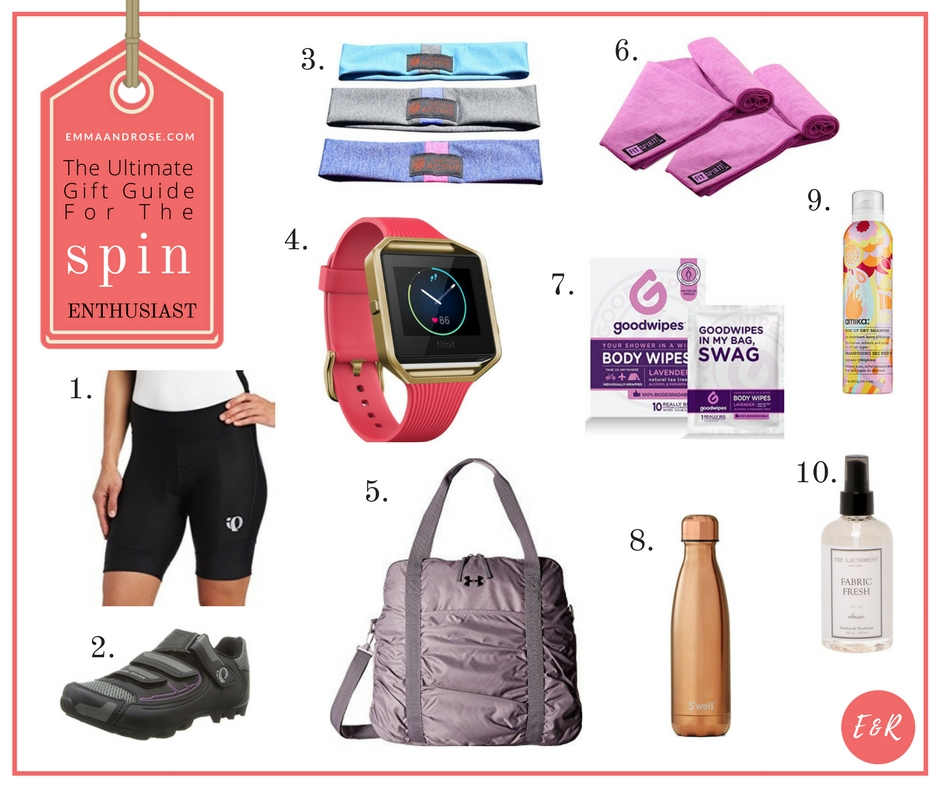 The Ultimate Gift Guide For Fitness Fanatic - The Spin Enthusiast
