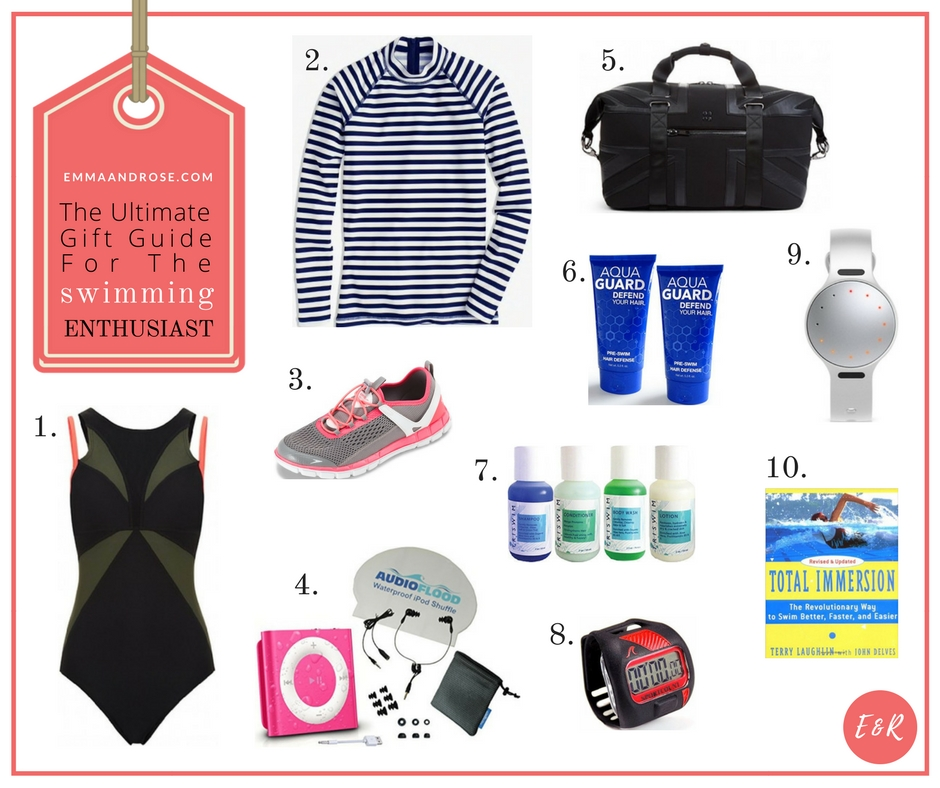 The Ultimate Gift Guide For Fitness Fanatics - The Swimming Enthusiast
