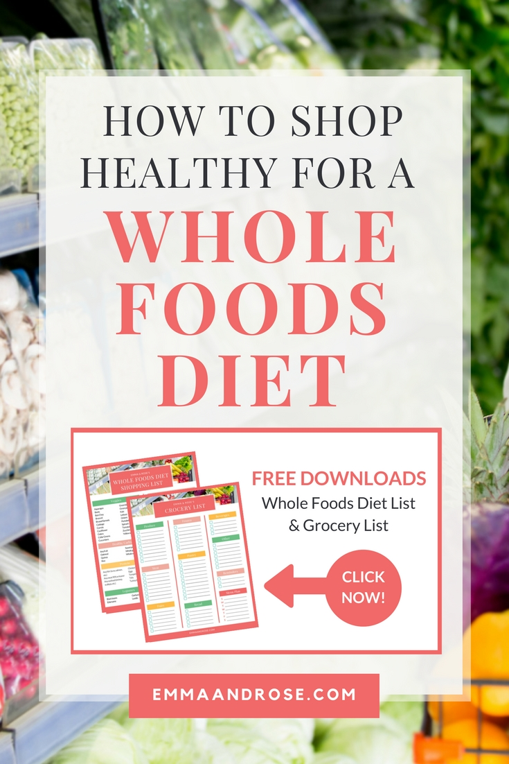 This Is How To Shop Healthy For A Whole Foods Diet