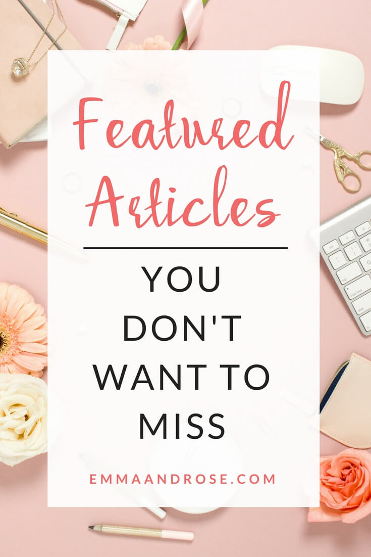 Featured Articles You Don't Want To Miss
