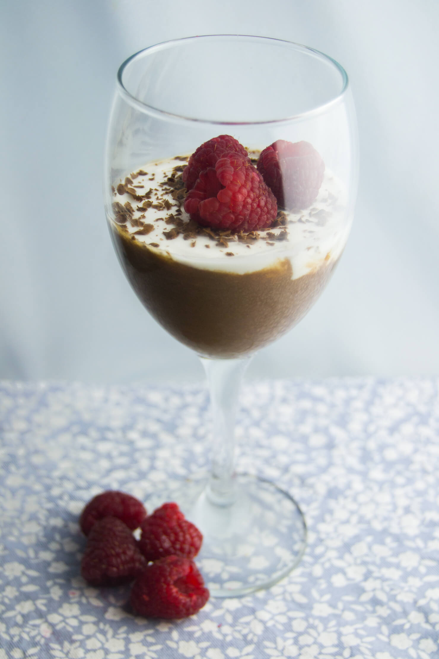 Amazing Valentine's Day Desserts - Vegan Chocolate and Coconut Cream Pudding