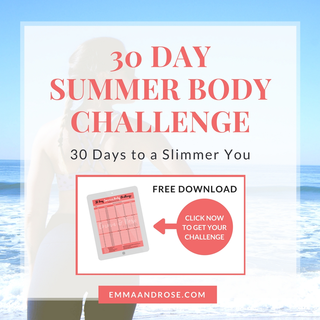 FREE 30 Day Summer Body Challenge