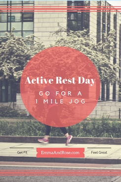 7-Day Workout Plan: Active Rest Day - Go For a 1 Mile Jog