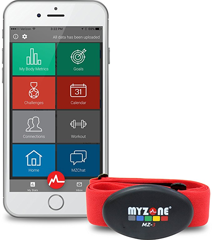 Father's Day Gift Guide for the Active Dad - MYZONE MZ-3 Physical Activity Belt