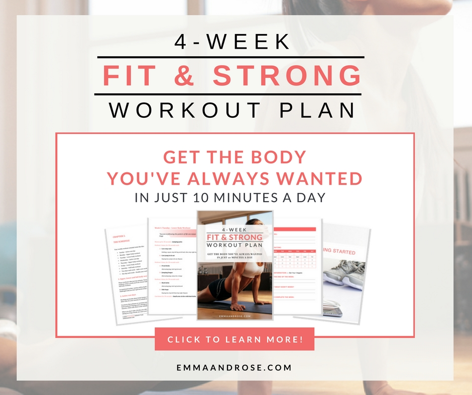 4-Week Fit & Strong Workout Plan