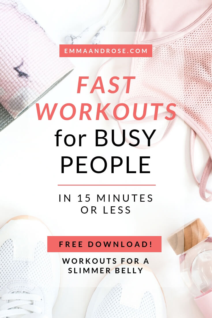Fast Workouts For Busy People