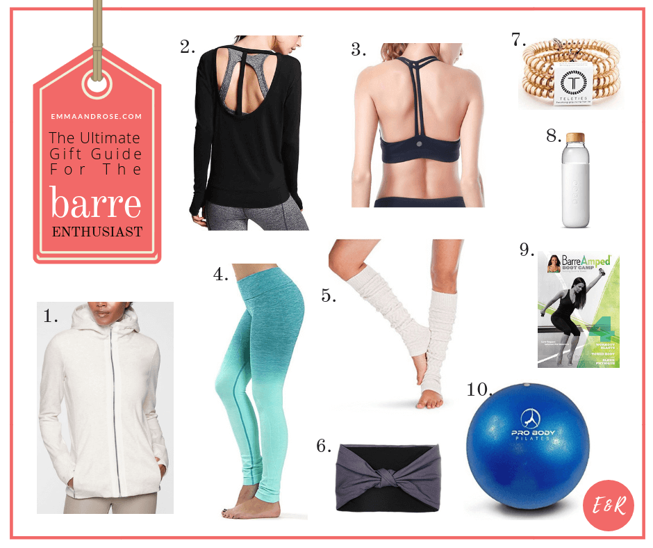The Ultimate Gift Guide For Fitness Fanatics - The Barre Enthusiast