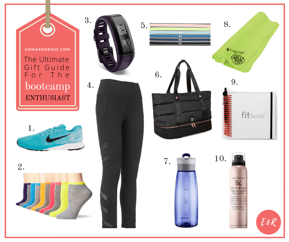 The Ultimate Gift Guide For Fitness Fanatics - The Bootcamp Enthusiast