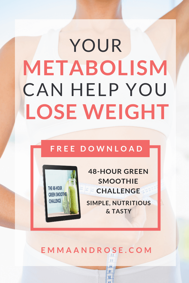 Your Metabolism Can Help You Lose Weight