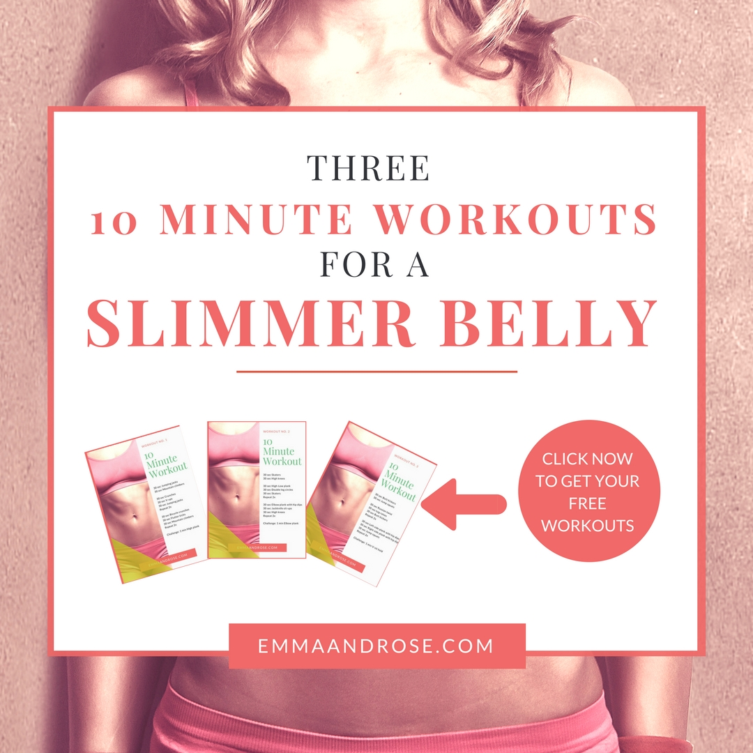 FREE 10 Minute Workouts for a Slimmer Belly
